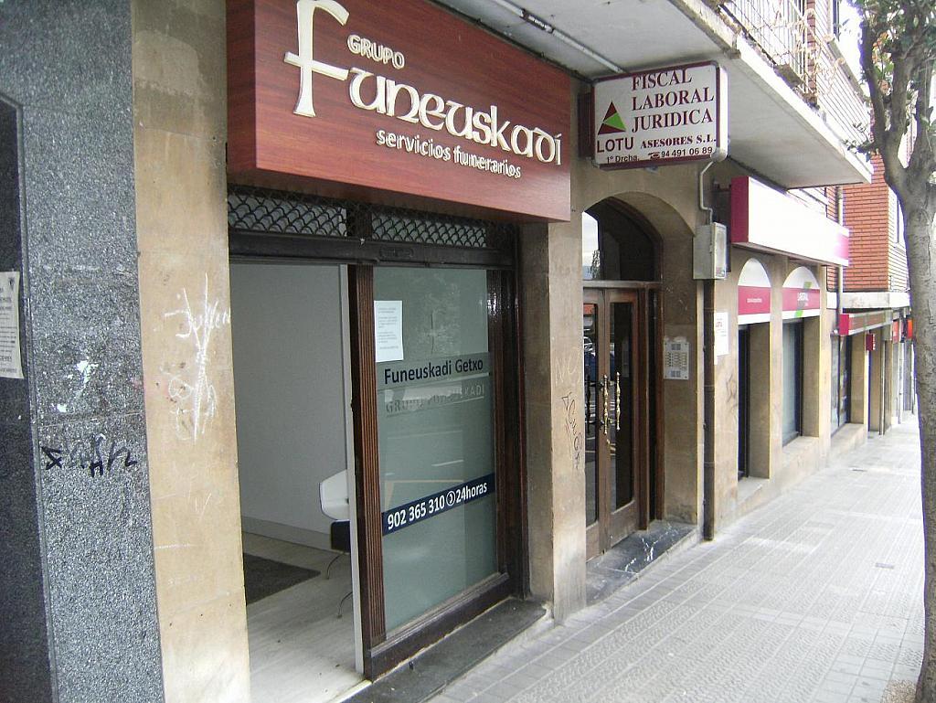 Fachada - Local en alquiler en Algorta - 279737979