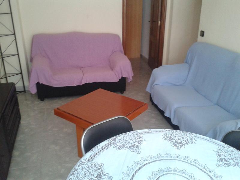 Salón - Piso en alquiler en calle Jaul, Zapillo en Almería - 118020668