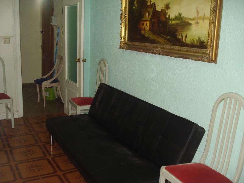 Salón - Piso en alquiler en calle Granada, Cruz de Caravaca en Almería - 112023968