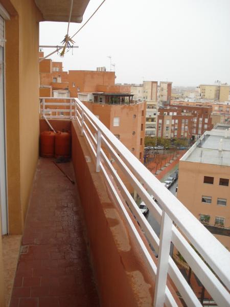 Terraza - Piso en alquiler en calle Granada, Cruz de Caravaca en Almería - 112024177
