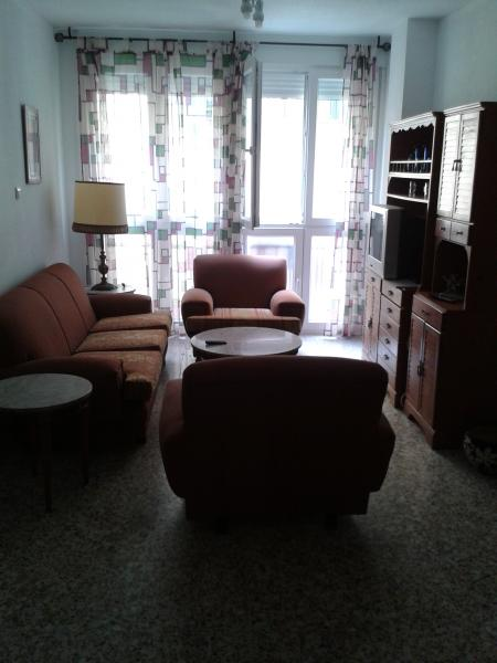 Salón - Piso en alquiler en calle Maldonado Entrena, Centro Historico en Almería - 116452395