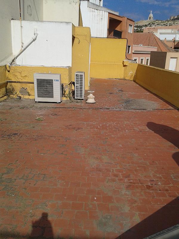 Terraza - Piso en alquiler en calle Tenor Iriarne, Oliveros en Almería - 127285847