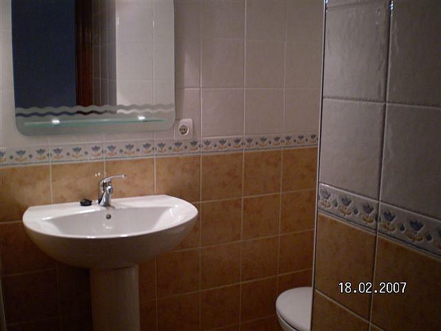 Baño - Piso en alquiler en calle Maldonado Entrena, Centro Historico en Almería - 136026822