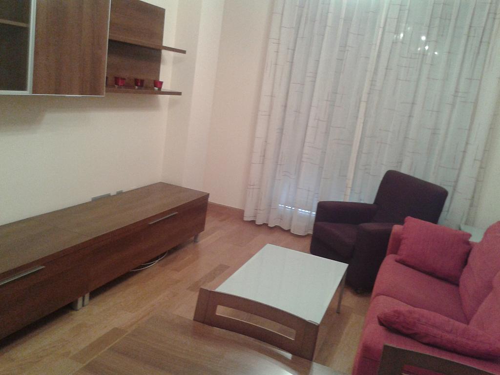 Salón - Apartamento en alquiler en calle Nuestra Señora de Montserrat, Pescaderia-La Almedina en Almería - 145779916