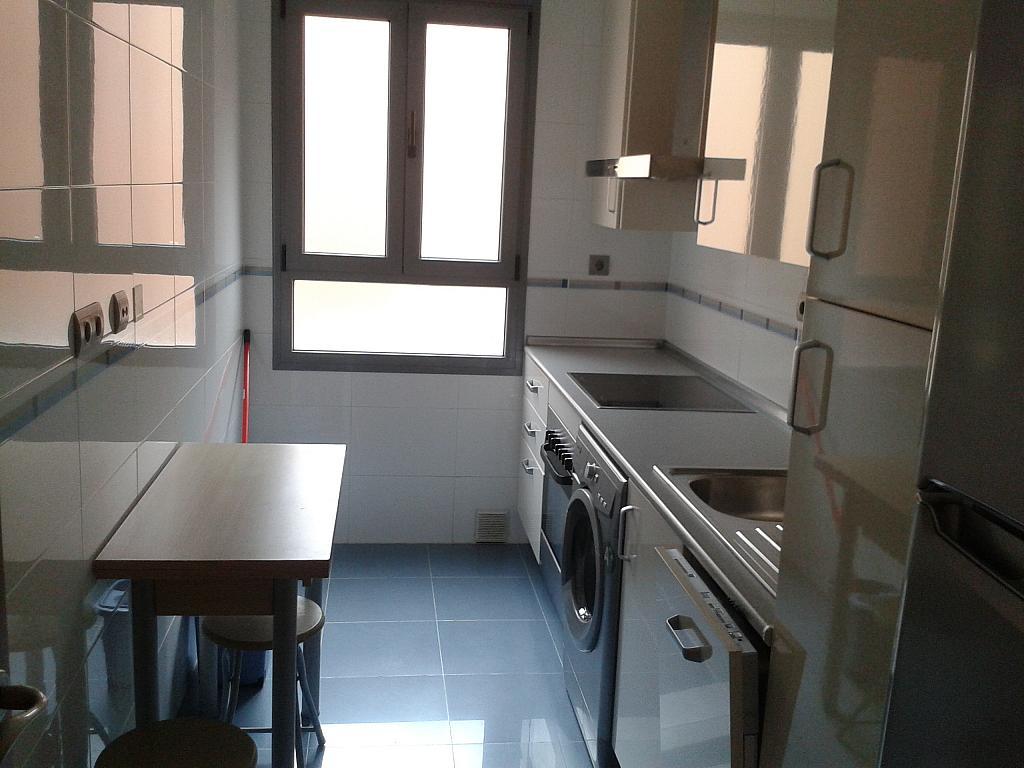 Cocina - Apartamento en alquiler en calle Nuestra Señora de Montserrat, Pescaderia-La Almedina en Almería - 145780006