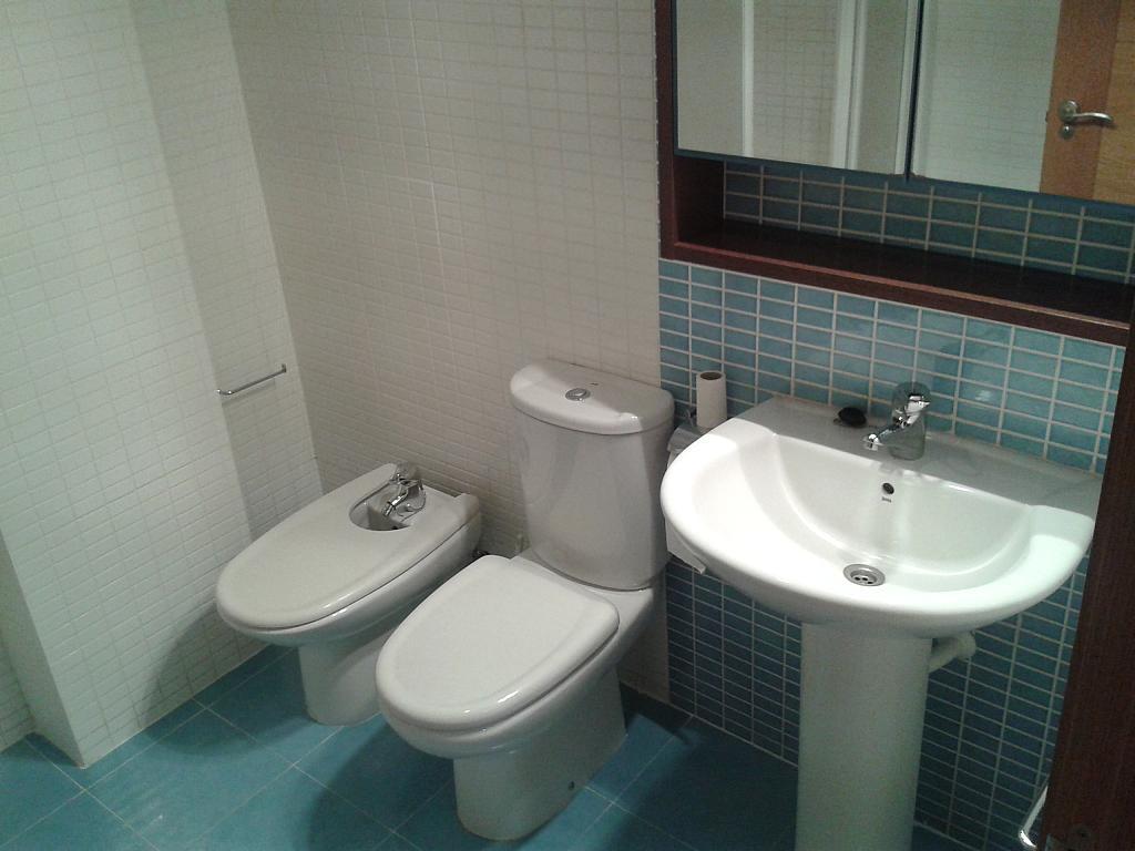 Baño - Apartamento en alquiler en calle Nuestra Señora de Montserrat, Pescaderia-La Almedina en Almería - 145780014