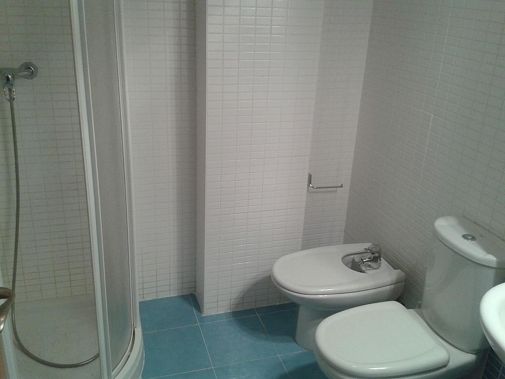 Baño - Apartamento en alquiler en calle Nuestra Señora de Montserrat, Pescaderia-La Almedina en Almería - 145780016