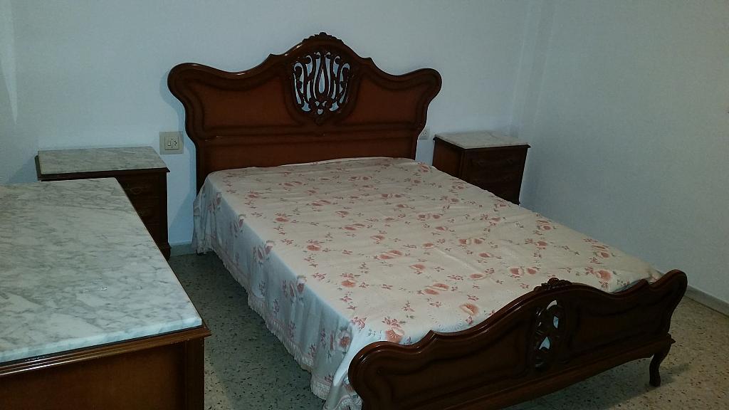 Dormitorio - Piso en alquiler en calle Guadalquivir, Colonia Los Angeles en Almería - 161752249