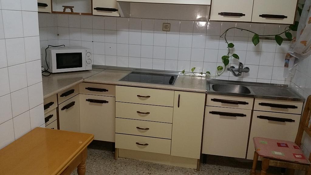 Cocina - Piso en alquiler en calle Guadalquivir, Colonia Los Angeles en Almería - 161752469