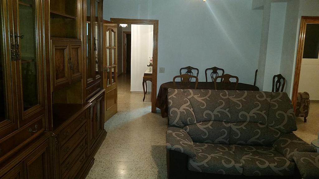 Salón - Piso en alquiler en calle Guadalquivir, Colonia Los Angeles en Almería - 161752495