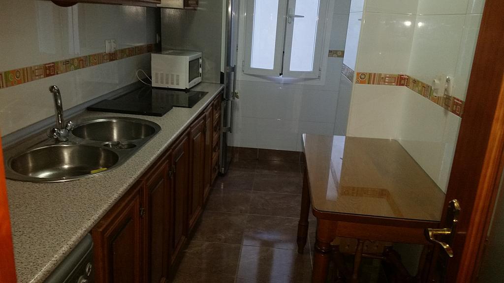 Cocina - Piso en alquiler en calle Azorin, Nueva Andalucia en Almería - 204605941