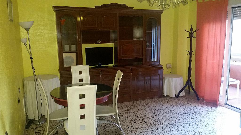 Salón - Piso en alquiler en calle Azorin, Nueva Andalucia en Almería - 204606903