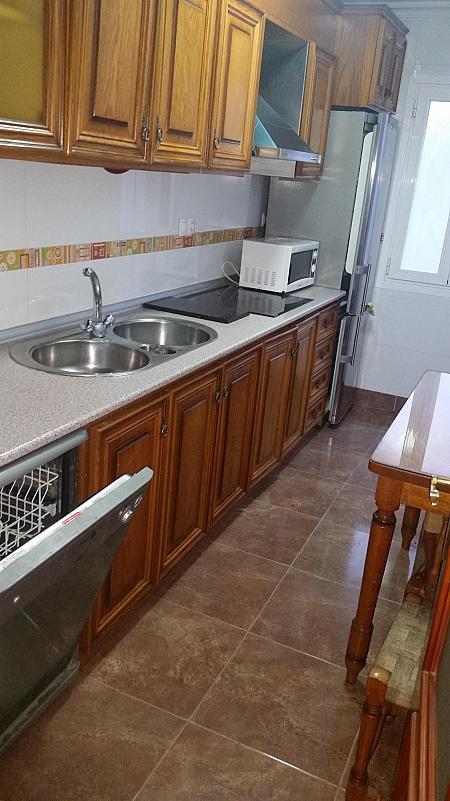 Cocina - Piso en alquiler en calle Azorin, Nueva Andalucia en Almería - 204607570