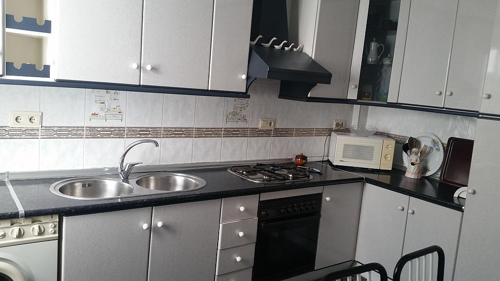 Cocina - Piso en alquiler en calle Regocijos, Centro Historico en Almería - 214424052