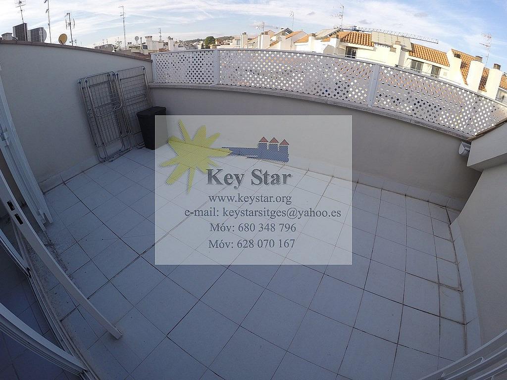 Piso en alquiler en calle San Sebastian, San Sebastian en Sitges - 329608525