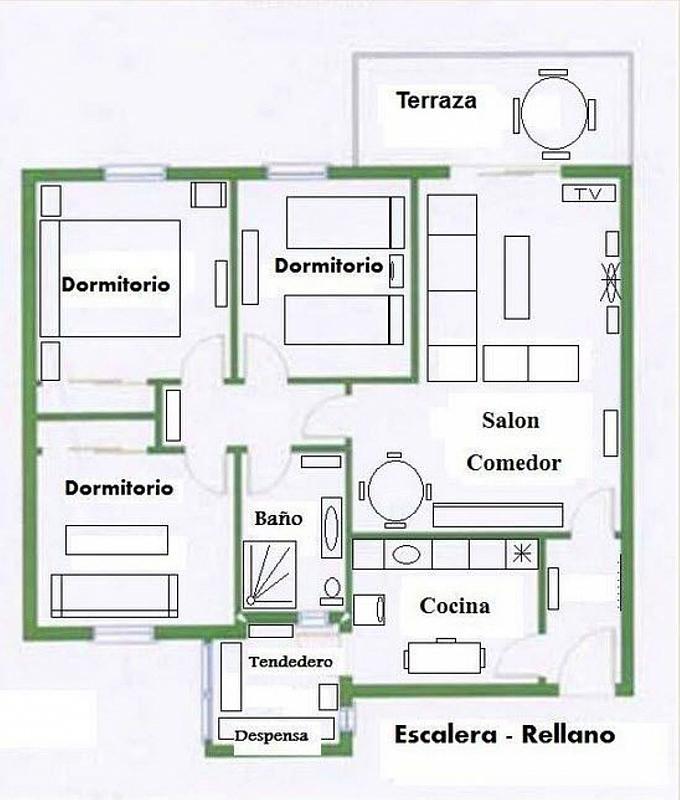 Piso en alquiler en calle De Las Rocas, Alpedrete - 323061909