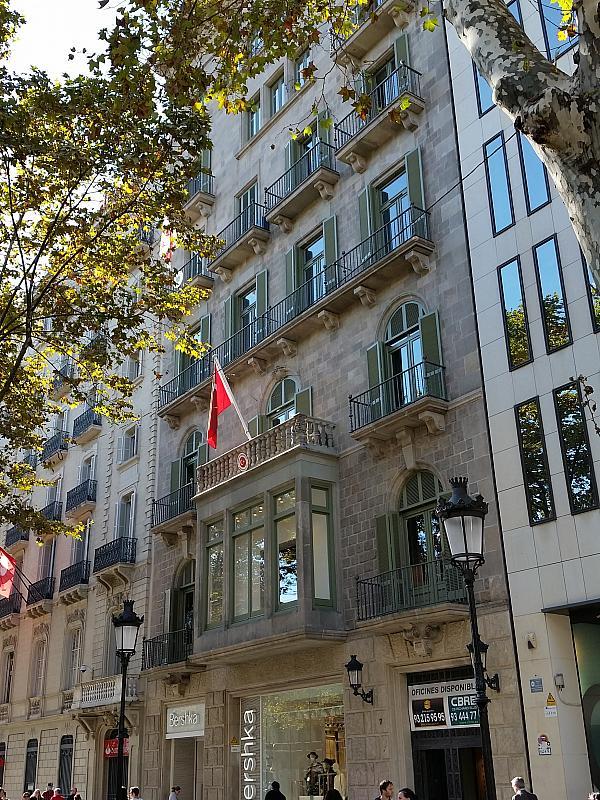 Oficina en alquiler en paseo De Gràcia, Eixample dreta en Barcelona - 323471261