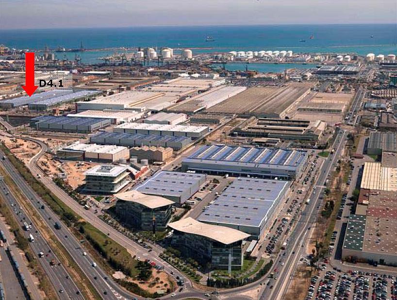 Nave en alquiler en parque Logístic de la Zona Franca, La Marina de Port en Barcelona - 323475949