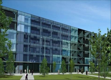 Fachada - Oficina en alquiler en plaza Europa, Santa Eulàlia en Hospitalet de Llobregat, L´ - 67127168