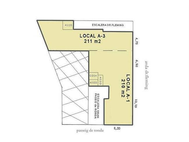Local comercial en alquiler en Lleida - 306121832