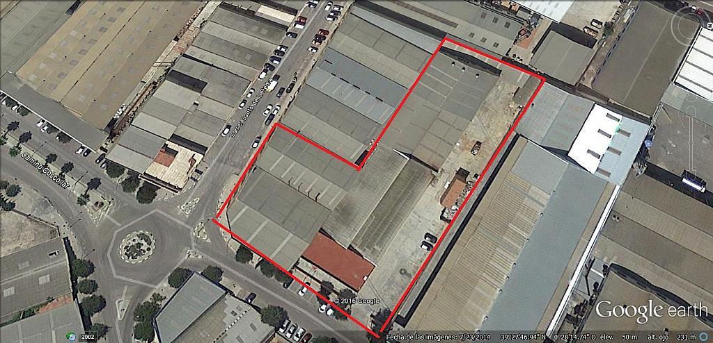 Nave en alquiler en calle Sant de la Pedra, Aldaia - 321200734
