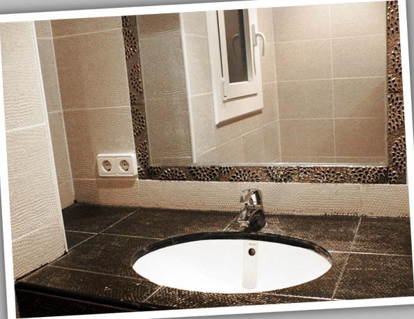 Baño - Apartamento en alquiler de temporada en calle Estrella de Mar, Playafels en Castelldefels - 67410896
