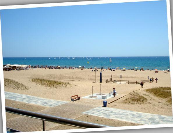Balcón - Apartamento en alquiler de temporada en calle Estrella de Mar, Playafels en Castelldefels - 67410898