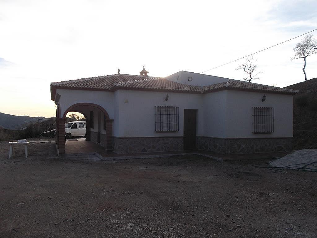 Fachada - Cortijo en alquiler en carretera De la Parra, Sedella - 245915743