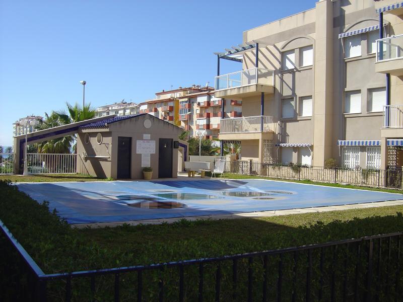 Piscina - Apartamento en alquiler en calle Andalucia Lentiscares III, Torrox-Costa en Torrox - 76590429