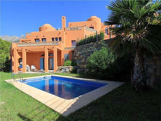 Casa en alquiler en calle Principal de la Serra, Altea - 350606960