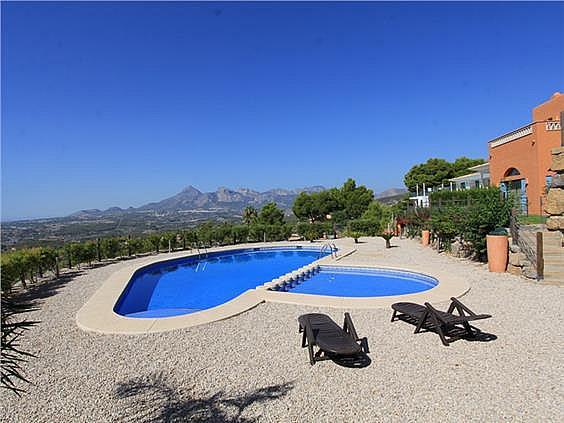 Casa en alquiler en calle Principal de la Serra, Altea - 350606966