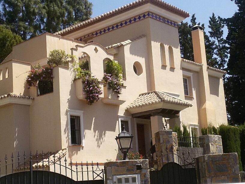 Chalet en alquiler en calle De la Navegacion, Casco Antiguo en Marbella - 322585587