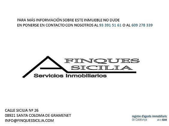 Local en alquiler en calle Sicilia, Fondo en Santa Coloma de Gramanet - 334529566