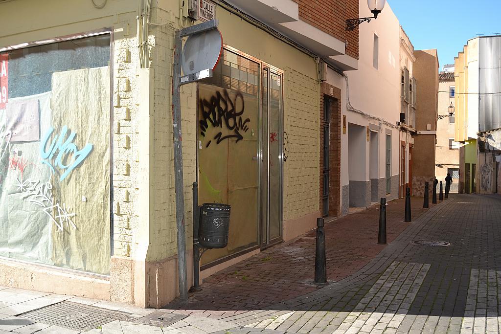 Fachada - Local comercial en alquiler en calle Viñeros, Mérida - 252850296