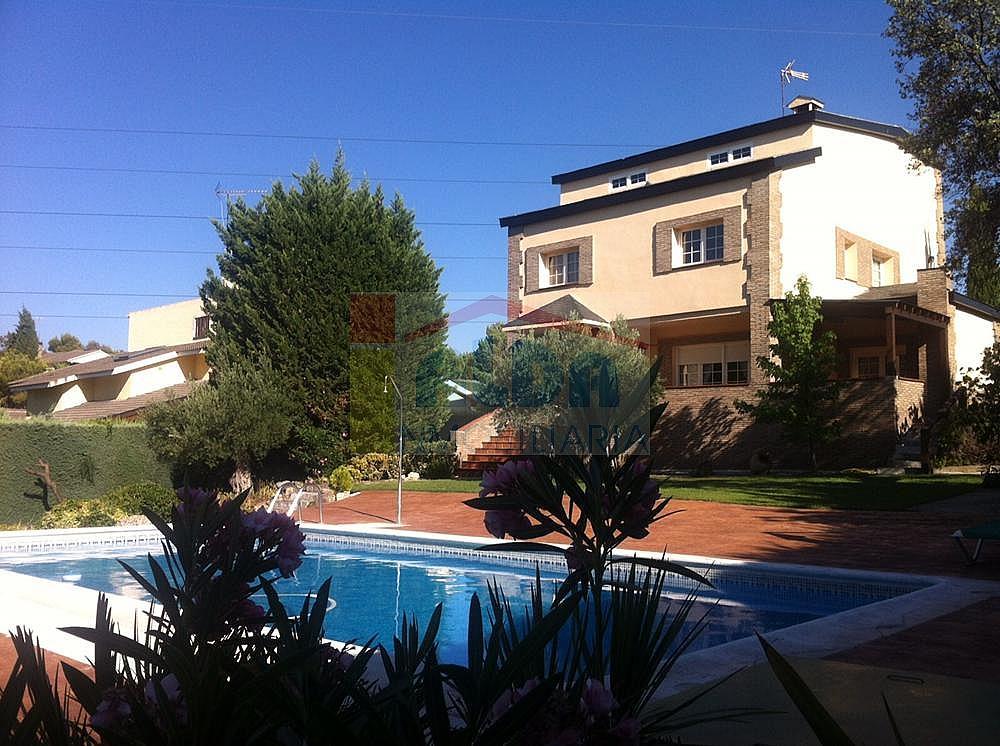 Fachada - Chalet en alquiler en calle El Bosque, Villaviciosa de Odón - 227938641