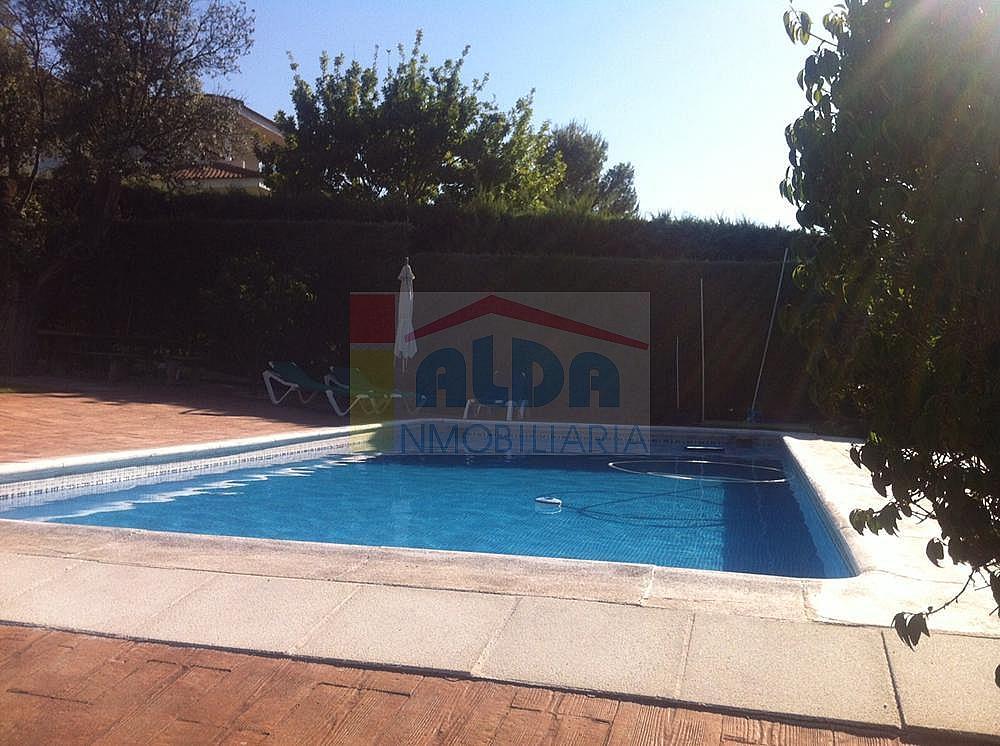Piscina - Chalet en alquiler en calle El Bosque, Villaviciosa de Odón - 227938649