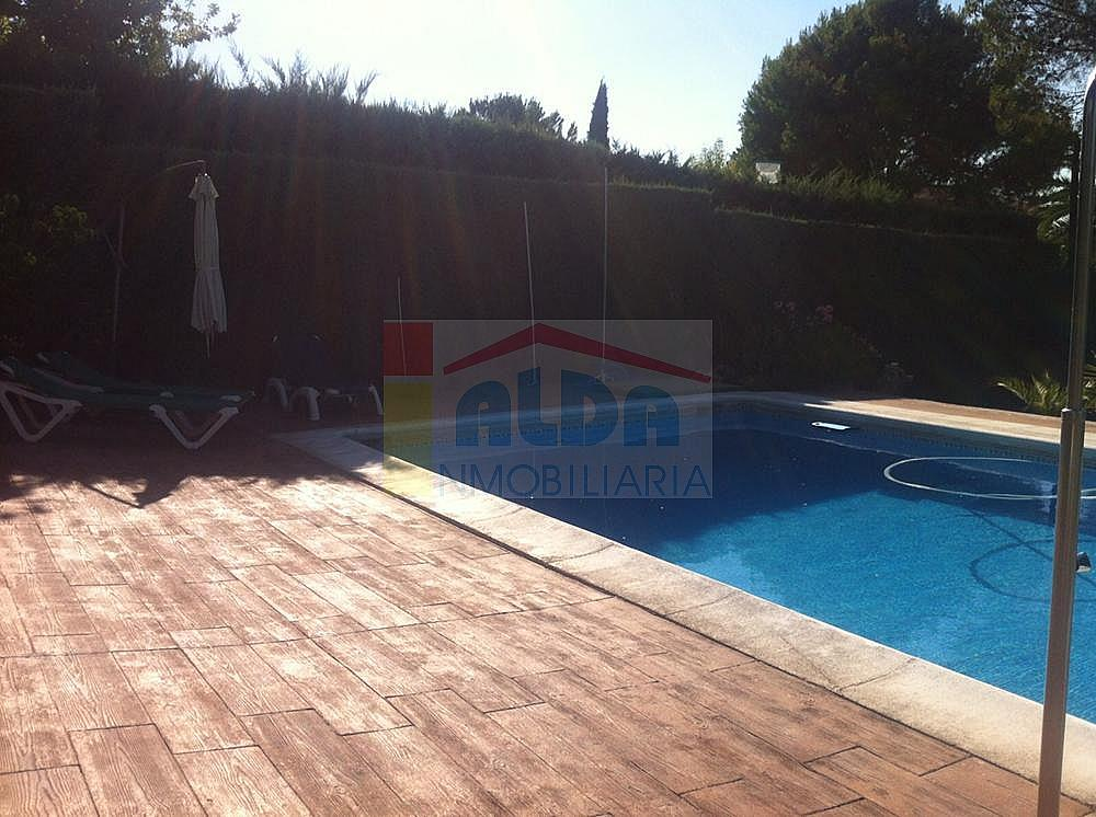 Piscina - Chalet en alquiler en calle El Bosque, Villaviciosa de Odón - 227938665