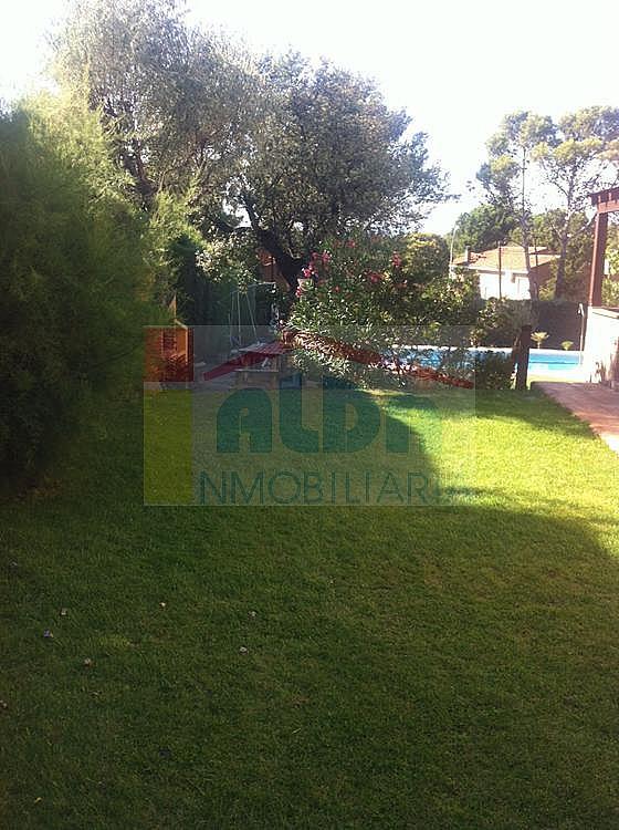 Jardín - Chalet en alquiler en calle El Bosque, Villaviciosa de Odón - 227938669
