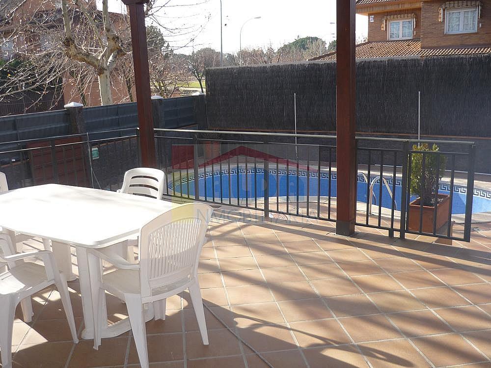 Piscina - Casa pareada en alquiler en calle Campodon, Villaviciosa de Odón - 237245067