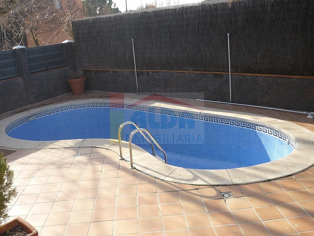 Piscina - Casa pareada en alquiler en calle Campodon, Villaviciosa de Odón - 237245071