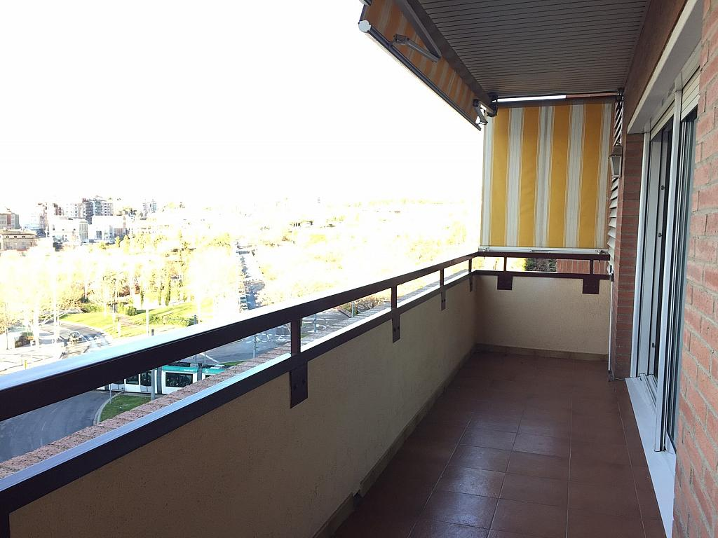 Terraza - Piso en alquiler en Sant Ramon-La Maternitat en Barcelona - 245396031