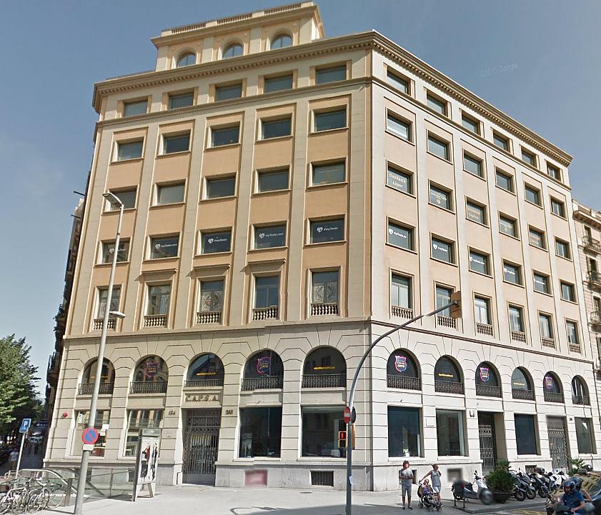 Fachada - Oficina en alquiler en Eixample dreta en Barcelona - 258847503