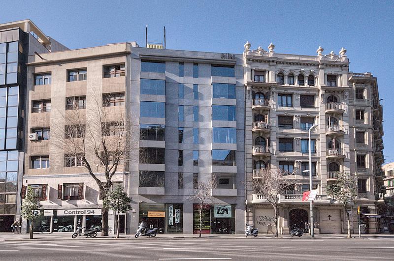 Fachada - Oficina en alquiler en Eixample esquerra en Barcelona - 288178456