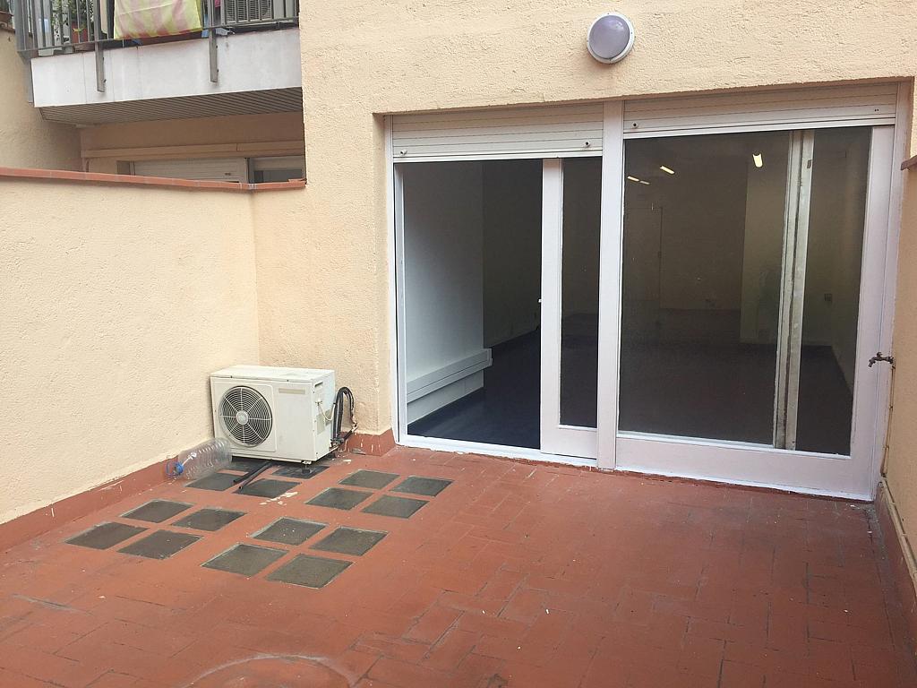 Terraza - Oficina en alquiler en Eixample esquerra en Barcelona - 323447885