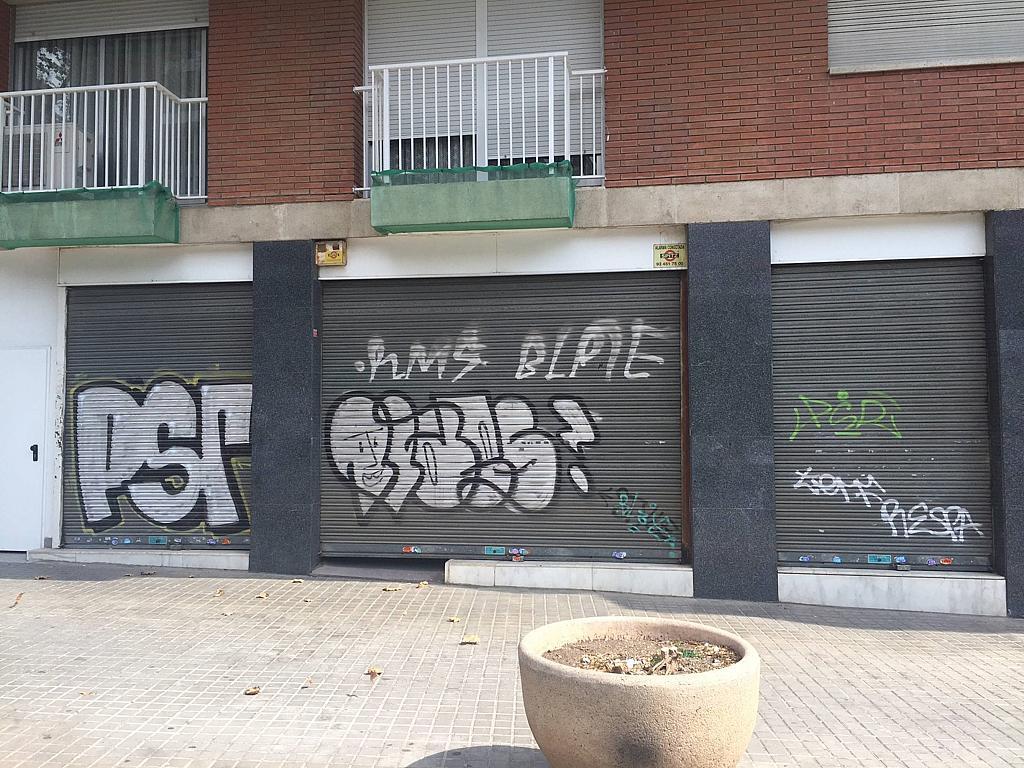 Fachada - Local en alquiler en Les corts en Barcelona - 323447224