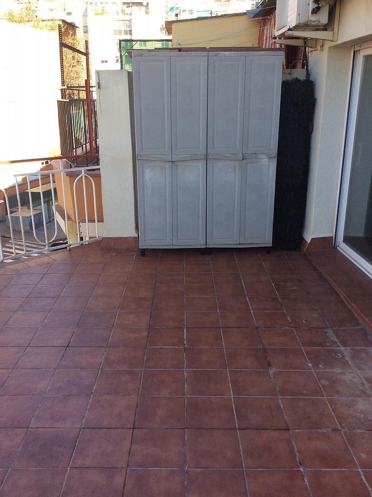 Terraza - Piso en venta en Les Roquetes-Canyelles en Barcelona - 362088016
