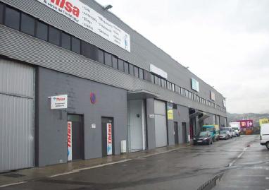 Fachada - Nave industrial en alquiler en El Pla en Sant Feliu de Llobregat - 111131129