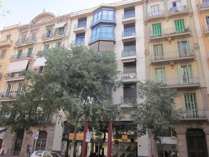 Fachada - Oficina en alquiler en Eixample en Barcelona - 117913296