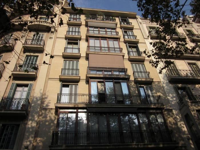 Fachada - Oficina en alquiler en Eixample en Barcelona - 118253117