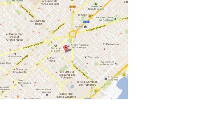 Plano - Oficina en alquiler en Fort Pienc en Barcelona - 118967041